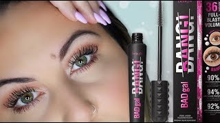 d969ee23933 Benefit Bad Gal Bang VS Too Faced Better Than Mascara |ROSIE DOLL
