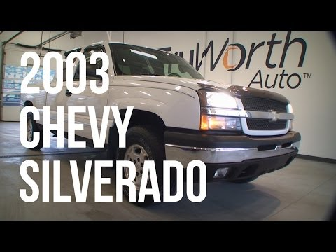 2003 Chevy Silverado - Clean CARFAX - CD Player - TruWorth Auto
