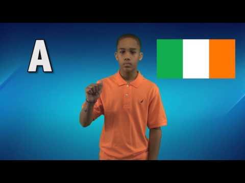 Irish Sign Language ABCs