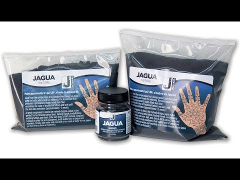 Jacquard's Dehydrated Jagua Powder: Test and Discussion
