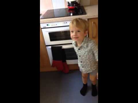 Autistic 3 year old. Logan struggles to communicate