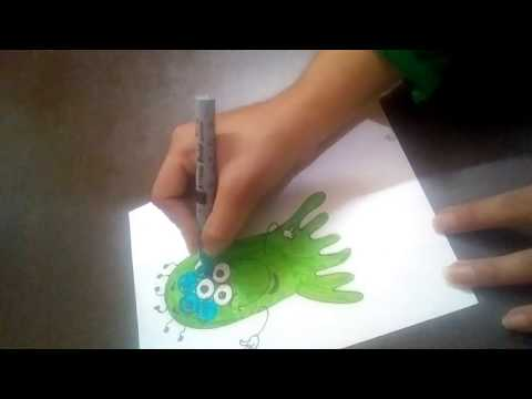 Learn how to Draw ALIEN!!! Fun drawing for Kids :) || by the arts Center