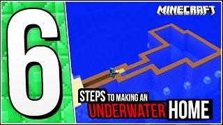 Minecraft Underwater House Tutorial