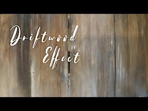 Drift wood effect - Annie Sloan's chalk paint - Drivveds-effekt