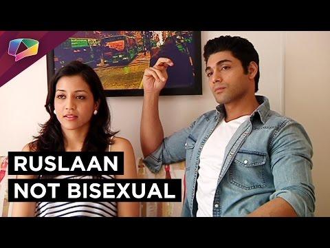 Ruslaan Mumtaaz says he is not bisexual