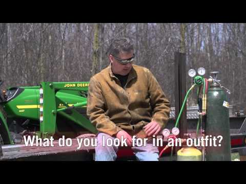 Hobby Farmer Says OxyFuel Outfits Essential for Repair and Fabrication Chores