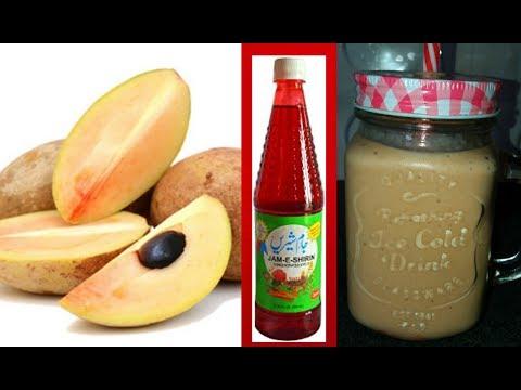Chikoo Milkshake Recipe