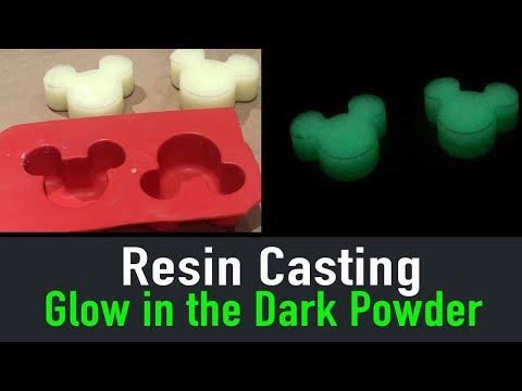 Epoxy Resin Craft Tutorial - Glow in the Dark Powder