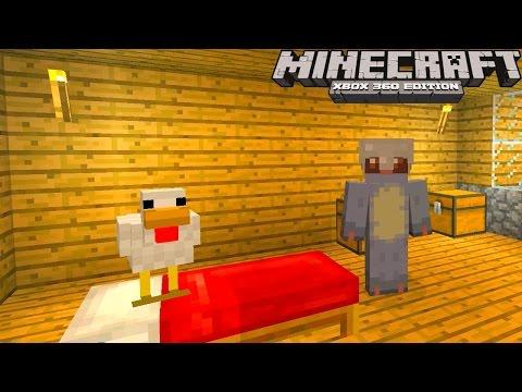 Minecraft Xbox: MEETING MR FEATHERS & Minecraft Creation - Minecraft LP #4 (Minecraft Xbox Gameplay)