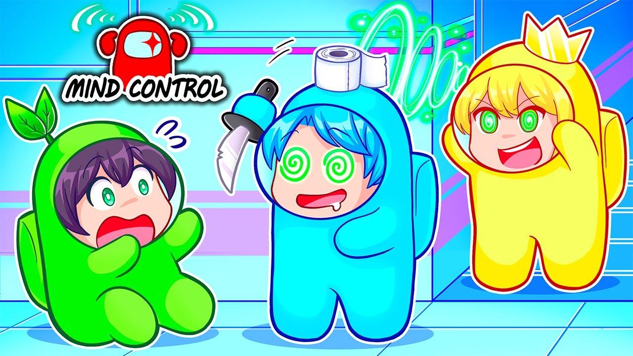 AMONG US NEW MIND CONTROL MOD!