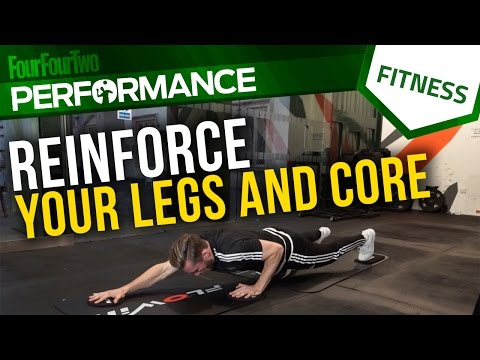 Gym workout | How to improve leg and core strength | Soccer conditioning
