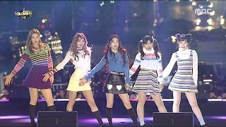 2016 MBC 가요대제전 - 추위에도 미모 폭발하는 레드벨벳의 러시안 룰렛 20161231