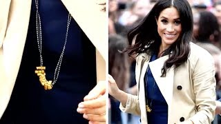Meghan Markle Wears Handmade Pasta Necklace Given to Her by a Little Boy