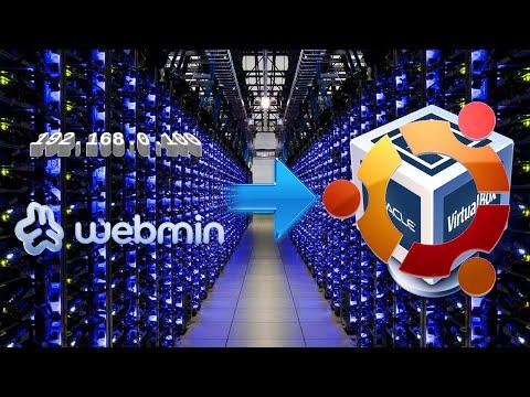 Virtualised Ubuntu Server Part 2 - Static IP and Webmin