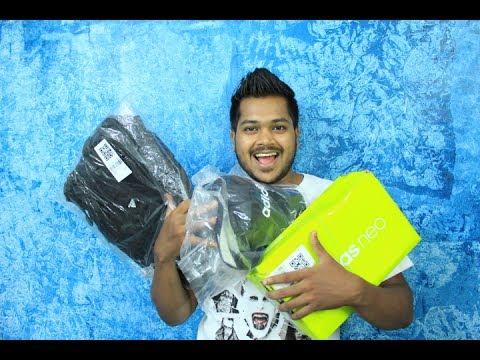 Adidas x Myntra Haul India | hindi (Pre Gst Sale)