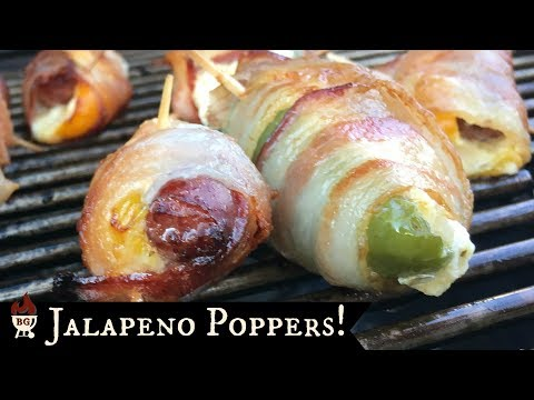 Bacon Wrapped Jalapeno Poppers! 🌶