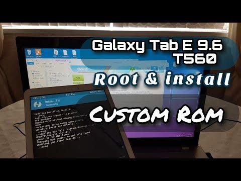 Samsung Galaxy Tab E 9.6 Root & Install Custom ROM Lineage OS