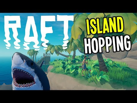 Raft - Island Exploration and Reef Diving!! - Raft Gameplay - Episode 2