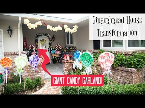 Giant Candy Garland