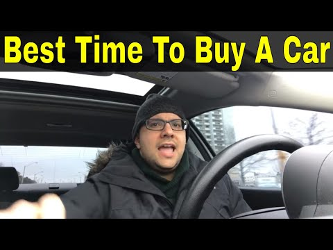The Best Time To Buy A Car To Get A Good Deal