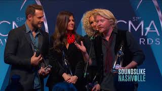 Little Big Town Talks Love, Harmony and Taylor Swift in CMA Awards Win