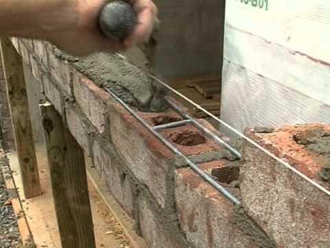 Support of Brick over Garage Doors