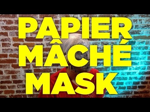 Papier Mache Mask Making