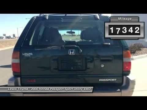 2000 HONDA PASSPORT Dodge City, KS 15460A