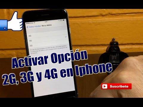 Tutorial Activar Opcion 2G/3G/4G en Iphone (CON JAILBREAK)