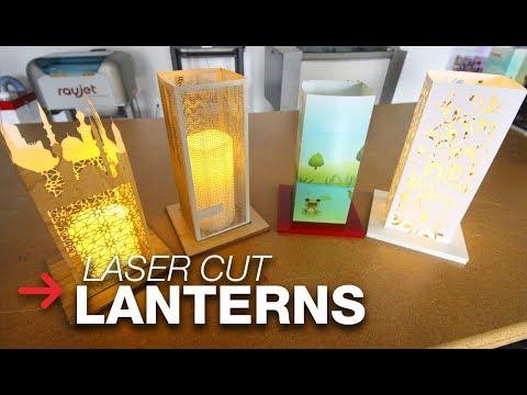 Laser Cut Lantern | Paper Lantern | Laser Cut Paper