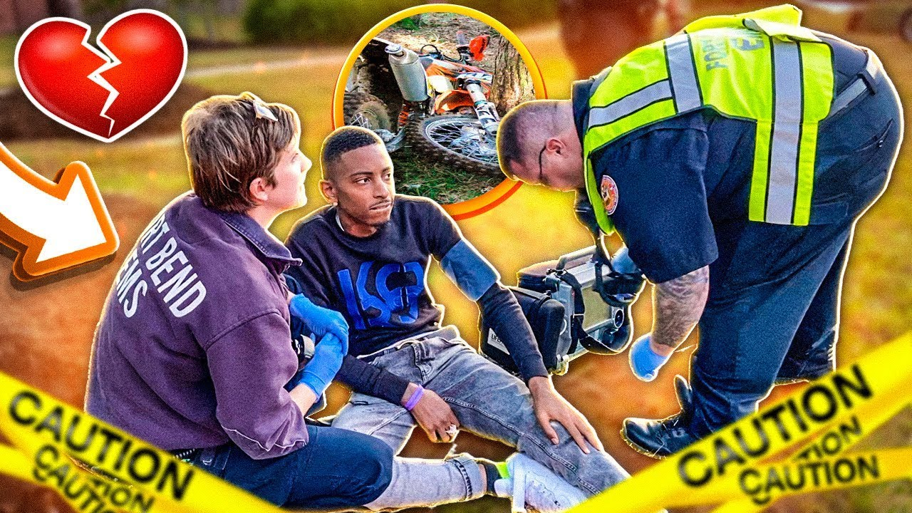 ALMOST LOST MY LIFE AFTER CRASHING MY DIRTBIKE!💔