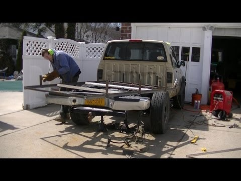 Building Custom Truck Bed