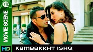 Feel the love   Kambakkht Ishq   Movie Scene