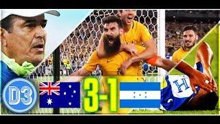 AUSTRALIA 3-1 HONDURAS   Los Catrachos se quedan sin Mundial   Resumen COMPLETO ★ D3D2