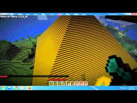 My Minecraft pyramid