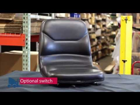 Hyster and Yale forklift seat