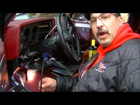 How To Replace Turn Signal Wiper Stalk & Cruise Switch GM Car & Truck 1989 K5 Chevy Blazer