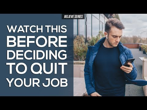 DO I NEED TO QUIT MY JOB TO PURSUE MY PASSION?