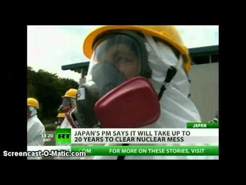 20 YEARS! to Clean up FUKUSHIMA Radiation Contamination. Says Japan PM.