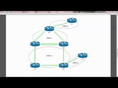 Cisco Network CCNA IPv6 OSPF - Routing Process