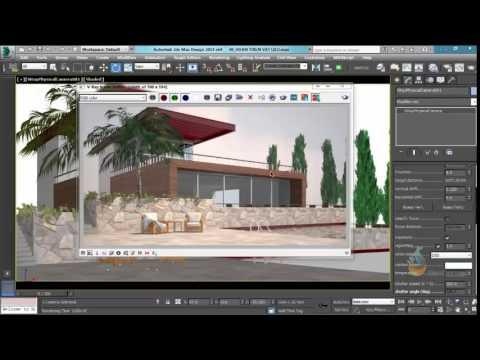 Thực hành 3ds Max - Bài 69 Hướng dẫn thiết đặt vray bầu trời trong 3Dsmax