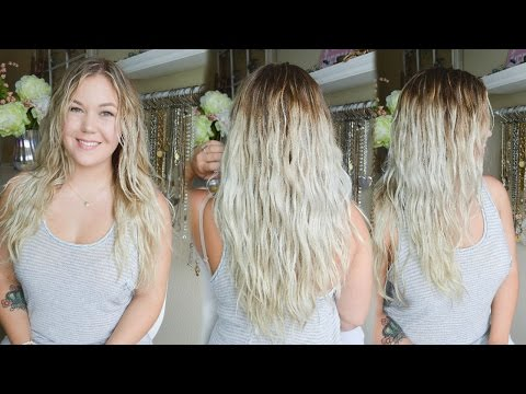 How to diffuse hair without frizz!   WAVY & CURLY