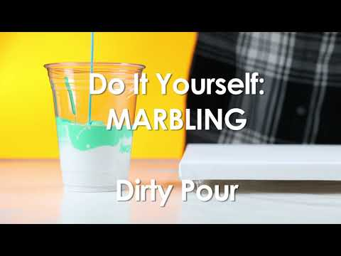 Do It Yourself Marbling - Dirty Pour
