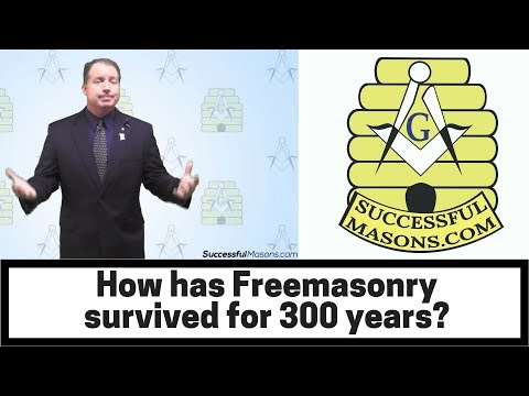 How has Freemasonry Survived 300 Years?