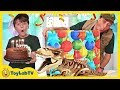 Dinosaur Giant Surprise Party Birthday Toy Hunt With Jurassic World Lego Toys Dinosaurs Playsets