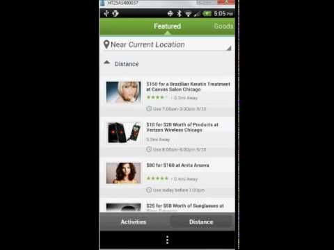 Groupon Android App Tutorial and Review