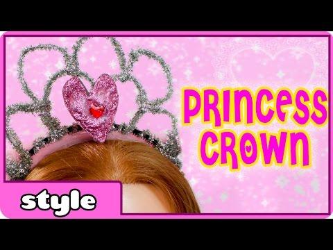 How to Make a Princess Crown   Make a Tiara DIY for Kids