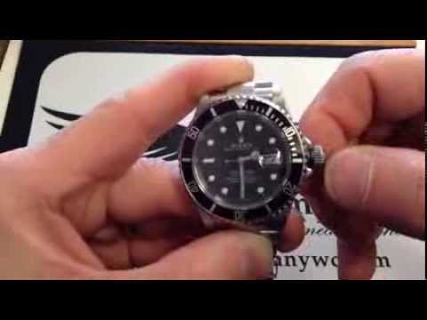 How to set the time and date on a Rolex Watch by OC Watch Company