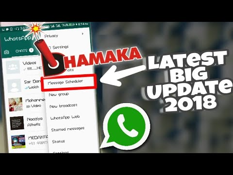 How To Schedule WhatsApp Messages 2018!