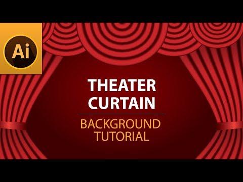 How to Create Elegant Theatre Background in Illustrator